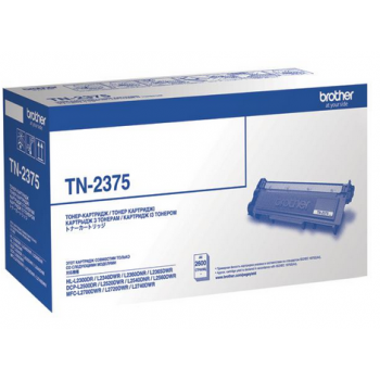 Заправка картриджа Brother TN-2375 для HL-L2300DR/HL-L2340DWR/HL-L2360DNR/HL-L2365DWR/DCP-L2500DR/DCP-L2520DWR/DCP-L2540DNR/DCP-L2560DWR/MFC-L2700DWR/MFC-L2720DWR