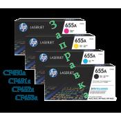 Новинка! Заправка картриджей для HP Color LaserJet Enterprise M652 /M653
