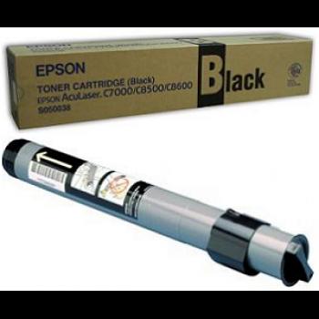 Заправка картриджа Epson S050038 черный для AcuLaser C8500/C8600