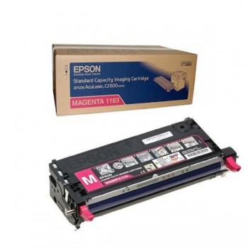 Заправка картриджа Epson C13S051163 пурпурный для AcuLaser C2800