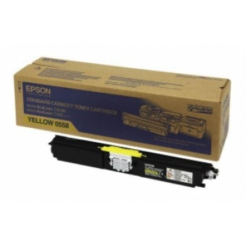 Заправка картриджа Epson S050558 желтый для AcuLaser C1600/CX16N