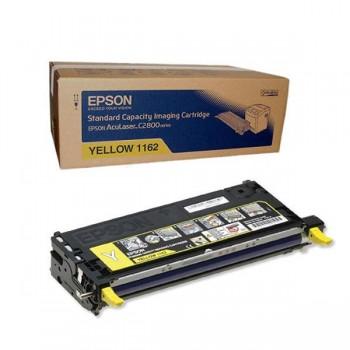 Заправка картриджа Epson C13S051162 желтый для AcuLaser C2800
