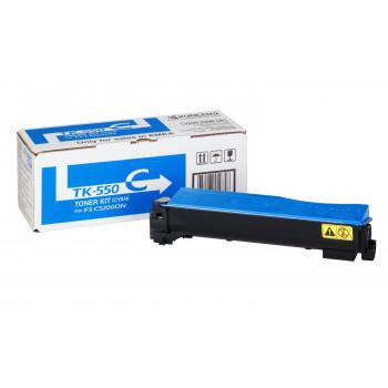 Заправка картриджа  Kyocera TK-550 голубой для FS-C5200DN