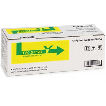 Заправка картриджа  Kyocera TK-5150Y желтый для Kyocera ECOSYS P6035 / M6035 / M6535