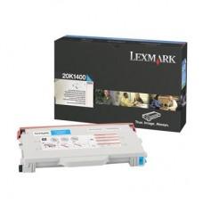 Заправка картриджа LEXMARK 20K1400 голубой для C510