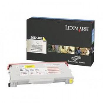 Заправка картриджа LEXMARK 20K1402 желтый для C510
