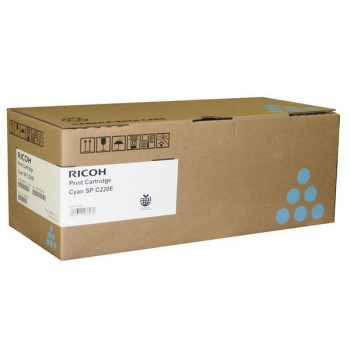 Заправка картриджа Ricoh SP C220 cyan синий для Ricoh Aficio SP C240DN / SP C220 / SP C220E / SP C221SF / SP C222SF / SP C220N / SP C221N / SP C222DN