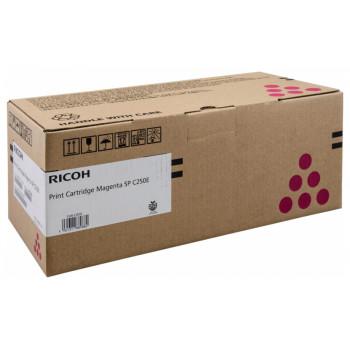 Заправка картриджа Ricoh SP C250E magenta пурпурный для Ricoh Aficio SP C250DN / SP C250SF / SP C260DNw /SP C260sfnw