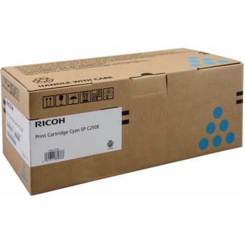 Заправка картриджа Ricoh SP C250E cian голубой для Ricoh Aficio SP C250DN / SP C250SF / SP C260DNw /SP C260sfnw