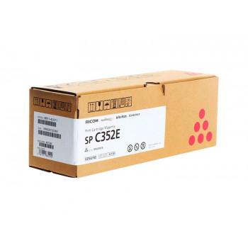 Заправка картриджа Ricoh SP C352E magenta пурпурный для Ricoh SP C352dn