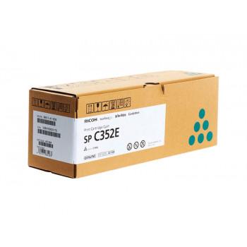 Заправка картриджа Ricoh SP C352E cyan голубой для Ricoh SP C352dn