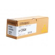 Заправка картриджа Ricoh SP C352E yellow желтый для Ricoh SP C352dn