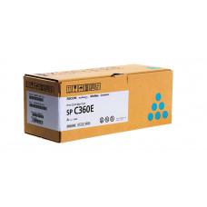 Заправка картриджа Ricoh SP C360E cyan голубой для Ricoh SP C360DNw/ SP C360SNw/ SP C361SFNw