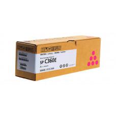 Заправка картриджа Ricoh SP C360E magenta пурпурный для Ricoh SP C360DNw/ SP C360SNw/ SP C361SFNw