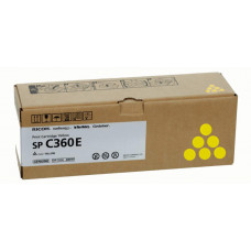 Заправка картриджа Ricoh SP C360E yellow желтый для Ricoh SP C360DNw/ SP C360SNw/ SP C361SFNw