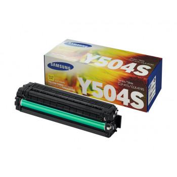 Заправка картриджа SAMSUNG CLT-Y504S Желтый + ЧИП для Samsung CLP-415, CLP-470, CLP-475, CLX-4170, CLX-4195, Xpress SL-C1810W, SL-C1860FW
