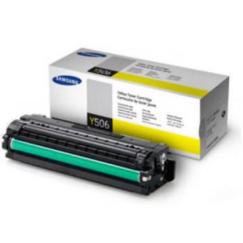 Заправка картриджа Samsung CLT-Y506S/CLT-Y506L желтый для Samsung CLP 680, CLX 6260