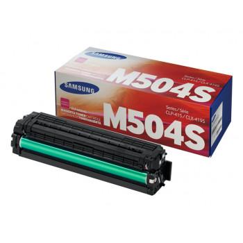 Заправка картриджа SAMSUNG CLT-M504S Пурпурный + ЧИП для Samsung CLP-415, CLP-470, CLP-475, CLX-4170, CLX-4195, Xpress SL-C1810W, SL-C1860FW