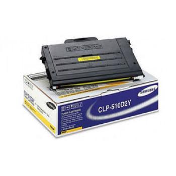 Заправка картриджа SAMSUNG CLP-510 желтый+ЧИП для Samsung CLP 510 / 510N, CLP 515 / 515N