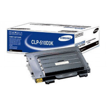 Заправка картриджа SAMSUNG CLP-510 черный+ЧИП для Samsung CLP 510 / 510N, CLP 515 / 515N