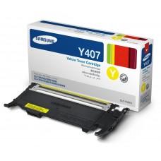 Заправка картриджа SAMSUNG CLT-Y407S желтый+ЧИП для Samsung CLP-320, CLP-325, CLX-3185