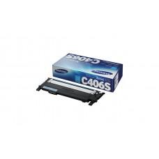 Заправка картриджа SAMSUNG CLT-C406S голубой без чипа для Samsung CLP-365 /W, CLX-3300, CLX-3305, CLX-3305FN /FW/W, Samsung Xpress C410W, C460FW / W