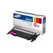 Заправка картриджа SAMSUNG CLT-M407S пурпурный+ЧИП для Samsung CLP-320, CLP-325, CLX-3185