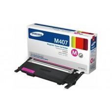 Заправка картриджа SAMSUNG CLT-M407S пурпурный, если аппарат прошит для Samsung CLP-320, CLP-325, CLX-3185