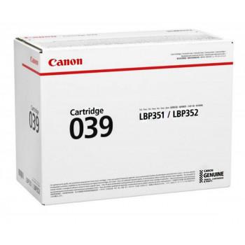 Заправка картриджа Canon 039 для Canon LBP351 \ LBP352