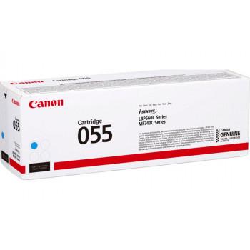 Заправка картриджа CANON 055 (cyan) синий для Canon LBP663Cdw / LBP664Cx / MF742Cdw / MF744Cdw / MF746Cx