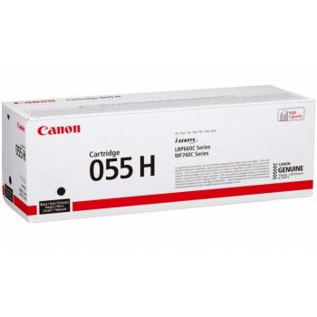 Заправка картриджа CANON 055H (black) черный для Canon LBP663Cdw / LBP664Cx / MF742Cdw / MF744Cdw / MF746Cx