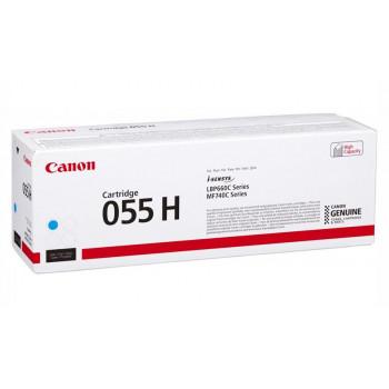Заправка картриджа CANON 055H (cyan) синий для Canon LBP663Cdw / LBP664Cx / MF742Cdw / MF744Cdw / MF746Cx