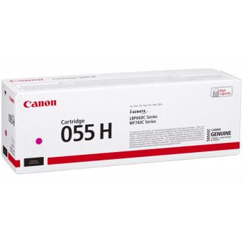 Заправка картриджа CANON 055H (magenta) пурпурный для Canon LBP663Cdw / LBP664Cx / MF742Cdw / MF744Cdw / MF746Cx