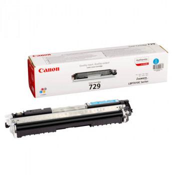 Заправка картриджа CANON 729 голубой для LBP7010C/LBP7018C