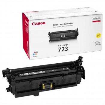 Заправка картриджа CANON 723 желтый для LBP 7750Cdn
