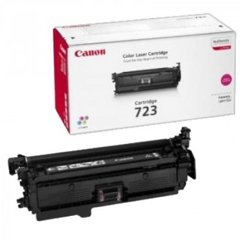 Заправка картриджа CANON 723 пурпурный для LBP 7750Cdn