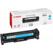 Заправка картриджа CANON 718 голубой для LBP7200C/MF8330/MF8350/MF8360/MF8540