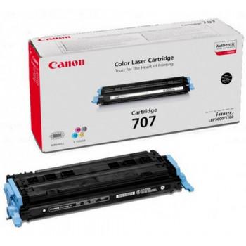 Заправка картриджа CANON 707 черный для LBP5000/LBP5100