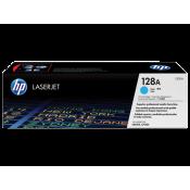 Заправка картриджа HP CE321A (128A) голубой cyan для HP CLJ CP1525/CM1415