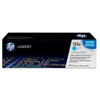 Заправка картриджа HP CB541A (125A) голубой cyan для HP CLJ CP1215/1515