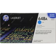 Заправка картриджа HP CE261A (648A) голубой cyan для HP CLJ CP4025/CP4525