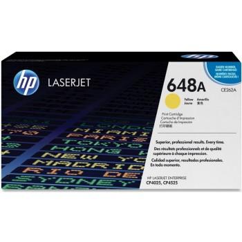 Заправка картриджа HP CE262A (648A) желтый yellow для HP CLJ CP4025/CP4525
