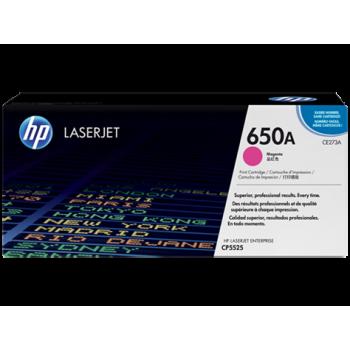 Заправка картриджа HP CE271A (650A) пурпурный magenta для HP CLJ CP5525
