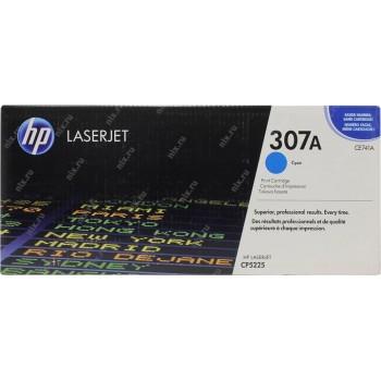 Заправка картриджа HP CE741A  (307A) голубой cyan для HP CLJ CP5225
