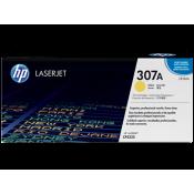 Заправка картриджа HP CE742A  (307A) желтый yellow для HP CLJ CP5225