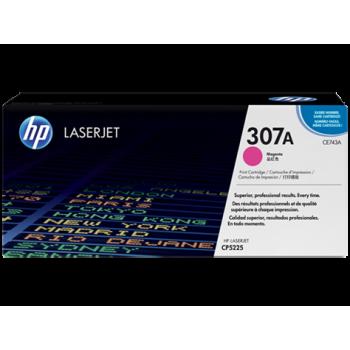 Заправка картриджа HP CE743A  (307A) пурпурный magenta для HP CLJ CP5225