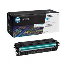 Заправка картриджа HP CF361A (508A) голубой cyan для HP LJ Enterprise M552/M553