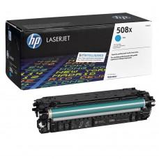 Заправка картриджа HP CF361X (508X) голубой cyan для HP LJ Enterprise M552/M553