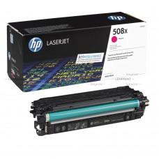 Заправка картриджа HP CF363X (508X) пурпурный magenta для HP LJ Enterprise M552/M553