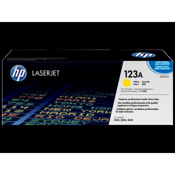 Заправка картриджа HP Q3972A (123A) желтый yellow для HP CLJ 2550/2800